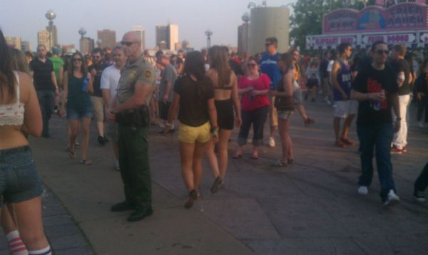 TSA VIPR Teams AND CBP Agents Spotted Patrolling Music Festival