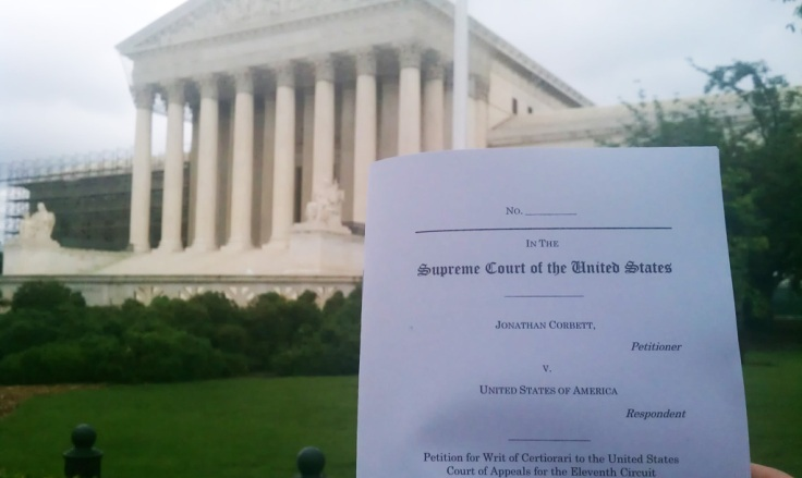 Petition Filed at Supreme Court