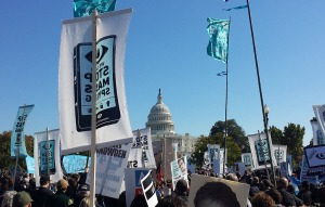 NSA Protest in DC 10/26/2013
