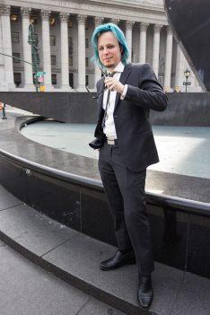 Jonathan Corbett standing in front of the U.S. Court of Appeals