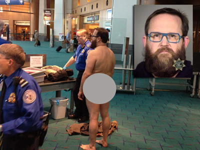 John Brennan's Nude Protest at PDX TSA Checkpoint