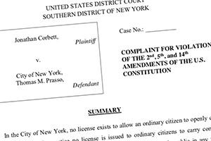 Federal Gun License Complaint