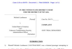 Leuthauser Complaint